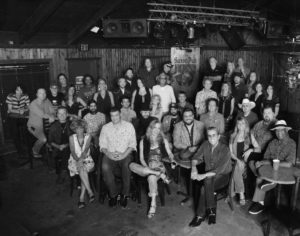 Austin musicians at Saxon Pub