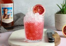 How to Make Still Austin Whiskey's Spiced Blood Orange Sour