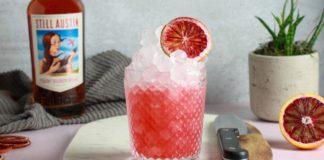 How to Make Still Austin Whiskey's Spiced Blood Orange Sour
